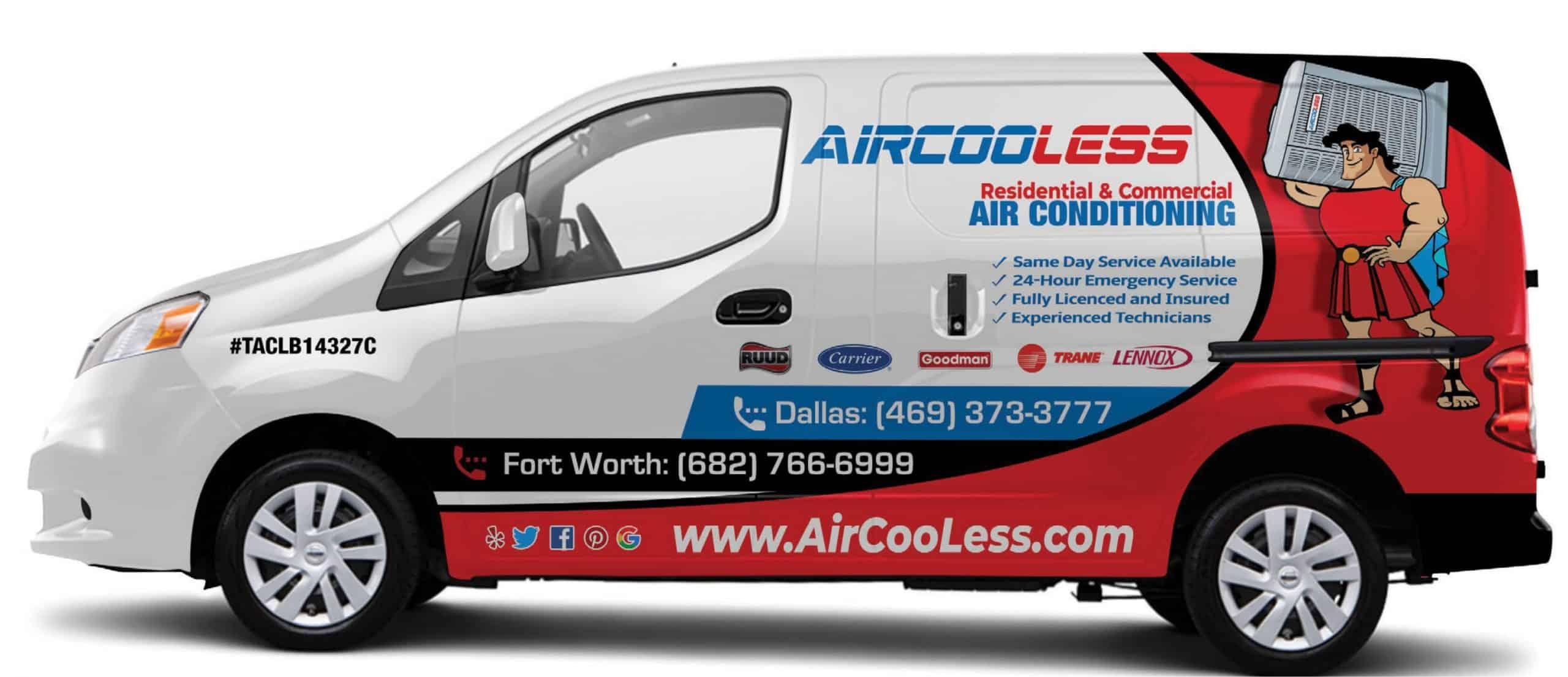 AirCooLess AC Repair Dallas-Fort Worth